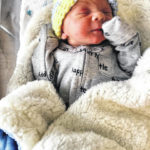 Justin Newman, Jr., first child born in Crawford County in 2019
