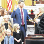 Rep. McClain takes oath of office