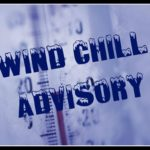 Storm warning through 10 a.m.; Windchill advisory from 6 p.m. through noon Monday