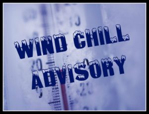 Update: Wind chill advisory through Tuesday morning, snow alerts cancelled, Galion plowing update