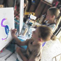Courtesy photo Galion High School graduate and artist Meg Frazier is on a mission to bring more creative art opportunties to the community. A new program starting next month includes an emphasis on bringing Galion's youth and it's elderly together in the spirit of being more creative.
