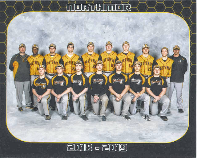 Photo courtesy of Gary Bellew, Unique Images The 2019 Northmor Golden Knights varsity baseball team will look to improve on their 11-11 overall finish from a season ago and will once again be led onto the field by veteran head coach Buck Workman.