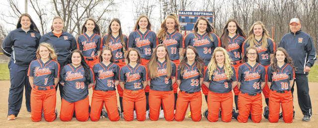 Photo courtesy of Photorama Studios in Galion The 2019 edition of the Galion Lady Tigers softball team