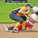 Area softball roundup: Lady Knights get two KMAC wins