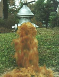 Fire hydrants will be flushed starting this week in Galion