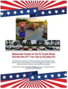 Memorial Day Cruise-In at Galion DQ