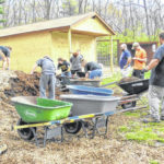 Northmor students make annual trip to clean up camp
