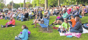 Music in the Park series starts June 4