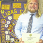 Nick Barnes named Colonel Crawford Lions Club Student of the Month