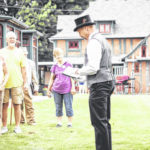 History Walk at Brownella Cottage on June 9