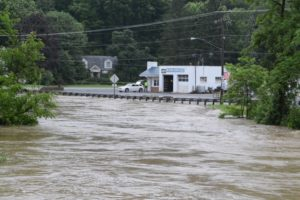 Gallery: Sunday morning, high water in Bellville area; Photos by Jeff Hoffer