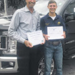 Donley Ford scholarship goes to Crawford's Braxton James