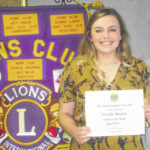 Danielle Horsley is April's student of the month at Colonel Crawford