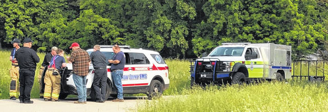The Morrow County Sheriff's Office and others searched for a missing woman. Her body was found Saturday morning.