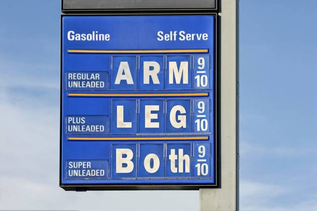 Columbus Gas Prices >> High Gas Prices Are Having An Affect On Drivers Galion Inquirer