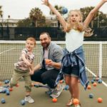 Here area few ideas to keep your family fit, active during the summer