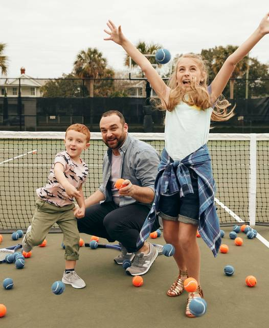 Photo courtesy StatePoint Try something different this summer to keep your family fit, active during the summer break. For instance, learn a new sport. From tennis to golf to touch football, there are a variety of ways to experience healthy activities as a group.