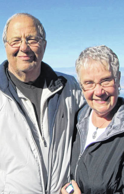 Courtesy photo Doug and Donna Ramsey will celebrate their 50th anniversary at Brethren Care Wellness Center in Ashland from 1-3 p.m. on Aug.17.
