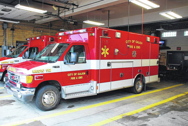 Photo courtesy City of Galion Fire and Rescue Facebook page There has been talk in recent months of forming a county-wide EMS service for all Crawford County residents. Galion Mayor Tom O'Leary said he has no interest in such a service and would be against a county-wide levy to fund those service. Galion and Polk Township residents are already served by the City of Galion Fire and Rescue,