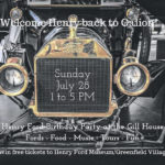 Gill House hosting a Henry Ford birthday celebration July 28