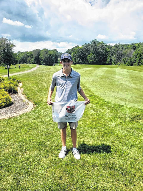 Submitted photo Incoming Galion Tigers junior Matthew McMullen continued his busy summer on the golf course over a two-day stretch at the Central Ohio Golf Academy Tour Showcase held at Apple Valley Golf Course in Howard. In a loaded field, McMullen earned runner-up status to go along with his numerous other achievements this offseason.