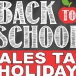Save on back-to-school items during three-day sales tax holiday