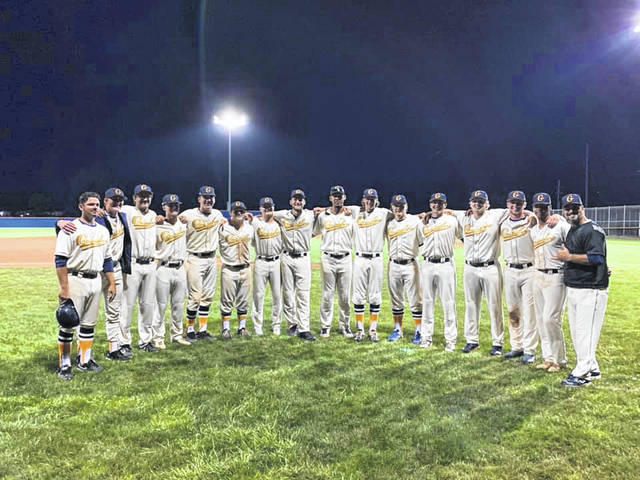 Submitted photo The 2019 Galion Graders played their final home game of the season on Monday evening against the visiting Grand Lake Mariners. Unfortunately, Galion would find themselves on the wrong end of a 16-6 score to fall to 11-28 overall in their final contest at Heddleson Field for the summer.