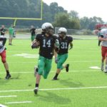 Clear Fork vs. Loudonville scrimmage; Photos by Jeff Hoffer