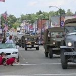 1919 military convoy coming through Galion on Saturday