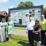 Entry point near Butler to B & O Trail gets a makeover