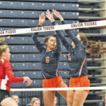 Galion spikers start strong, improve to 2-0
