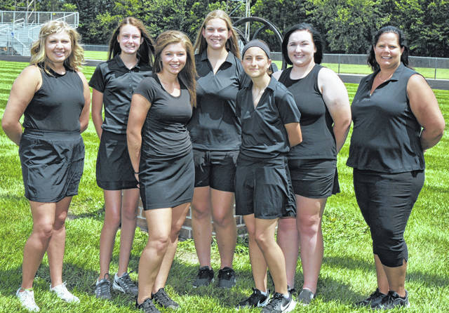 Photo courtesy of Photorama Studios The 2019 edition of the Colonel Crawford Lady Eagles golf team