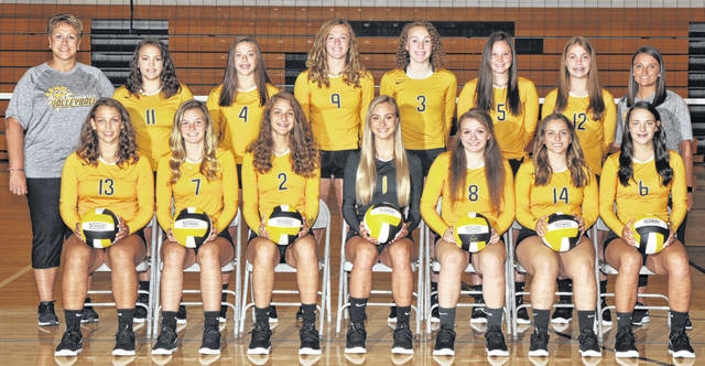 Photo courtesy of Photorama Studios The 2019 edition of the Colonel Crawford Lady Eagles volleyball team