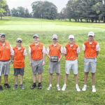Galion boys golf team, picking up where they left off