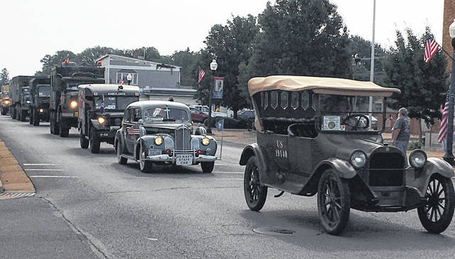 "Photo by Jodi Myers The original 1919 convoy was actually designed to test ""new"" military vehicles and ""new"" auto roads for the effectiveness of moving troops in America. It left Washington D.C. on July 7 and arrived in San Francisco on Sept. 6, 1919."