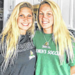 From Bellville to Wright State: Jordyne, Kaylin Helinski are playing together again
