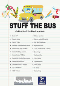 Third Friday finale is Aug. 16; Still time to help Stuff the Bus