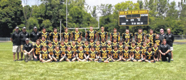 Photo courtesy of Gary Bellew, Unique Images of Ohio The 2019 edition of the Northmor Golden Knights football team