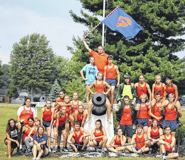 Submitted photo The Galion Tigers cross country teams hosted the annual Crawford County Cross Country Meet at Amann's on Saturday. Galion's girls would win their portion of the meet while the boys squad finished third.