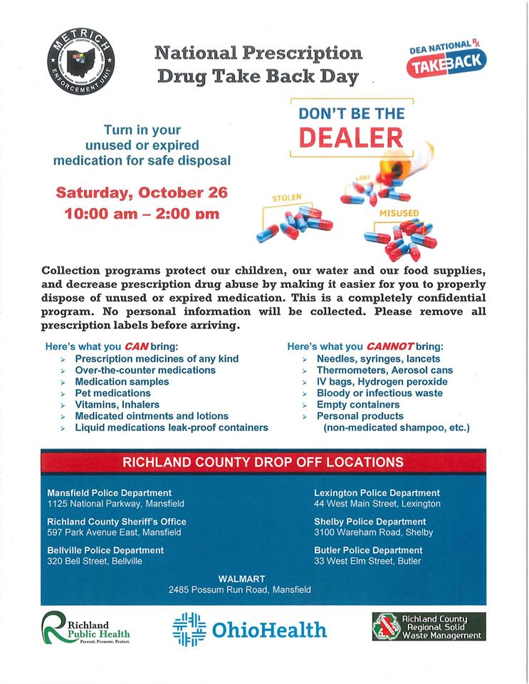 Dispose Of Prescription Drugs At DEA 'Take Back' Events On Saturday