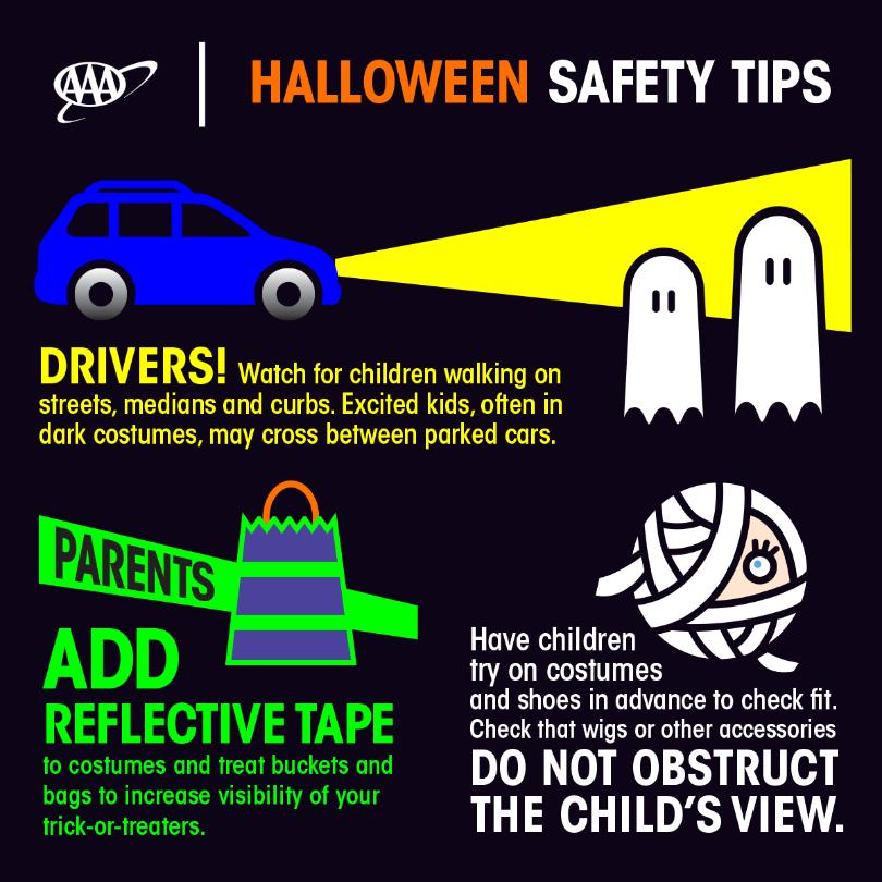 Halloween safety tips from AAA - Galion Inquirer