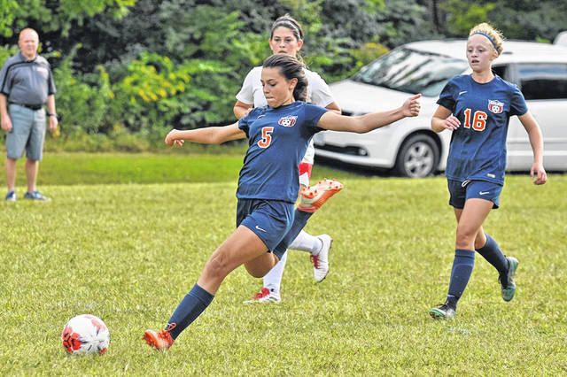 Galion girls soccer