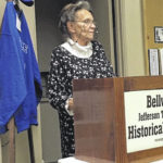 Who's got the button? Roberta Klaus talks button collecting with Bellville-Jefferson Township Historical Society members