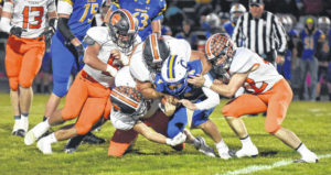 Week eight football action provides conference shake ups