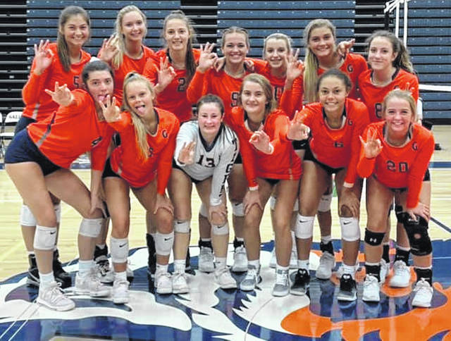 Photo courtesy of Erin Miller On Tuesday evening, the Galion Lady Tigers claimed their third consecutive MOAC title with a sweep of the Shelby Lady Whippets. Heading into Wednesday's final conference game against Ontario, Galion holds a 37-2 mark in the league during their reign as champions.