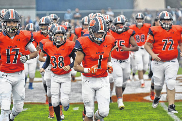 File photo  Heading into the eighth week of the season, the Galion Tigers sat atop the Division 4, Region 14 polls. Additionally, Galion received votes to be named the 13th ranked team in the Division in the state according to this past week's Associated Press polls.