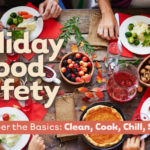 Four steps to food safety for before, during and after your holiday feast