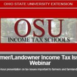 Registration open for farmer, farmland owner income tax webinar