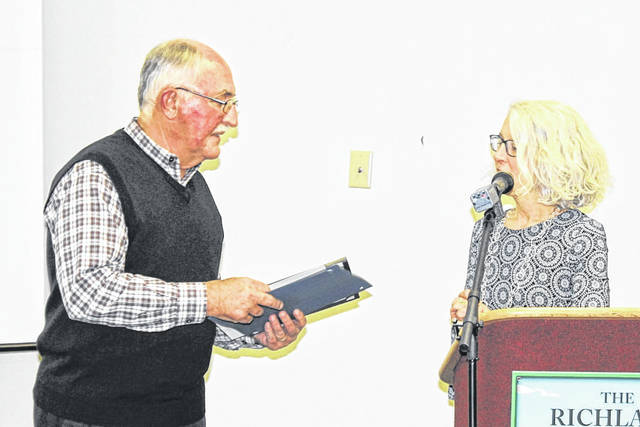 Courtesy photo Mark Meinzer was named the Richland SWCD 2019 Volunteer of the Year. Mark has volunteered with Richland SWCD since 2015.
