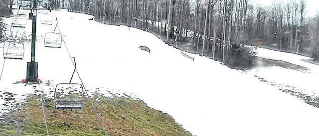 Photo courtesy www.SnowTrails.com Snow Trails, on Possum Run Road in Mansfield, will open at 3 p.m. today (Friday). The resort will be open until 9 p.m. and also will be open this weekend. This is the 59th year for Snow Trails, and its earliest opening.